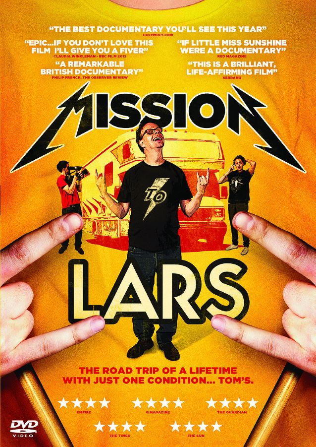 Mission to Lars movie poster featuring Tom Spicer and his siblings standing in front of an RV.