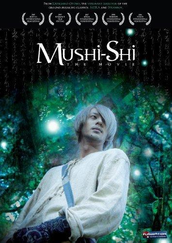 Poster for Mushishi featuring Joe Odagiri as Ginko.
