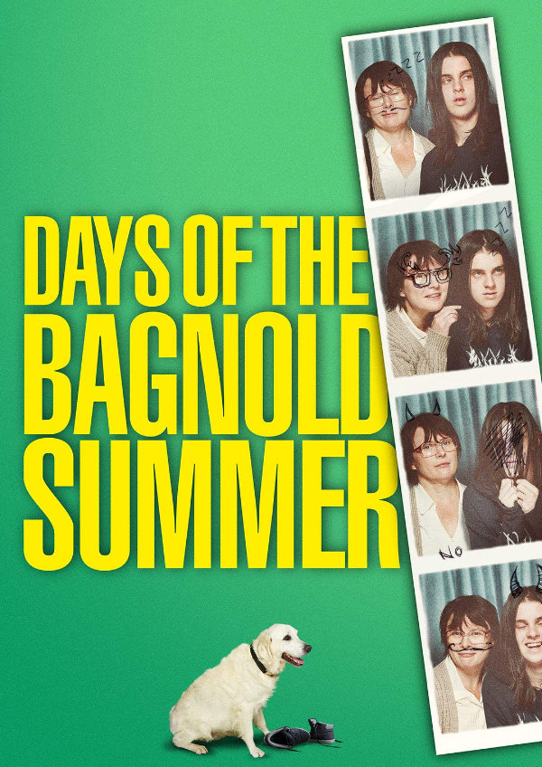 Poster for Days of the Bagnold Summer, featuring Monica Dolan and Earl Cave.